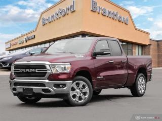 New 2019 RAM 1500 Big Horn  - Remote Start - Uconnect - $298.58 B/W for sale in Brantford, ON