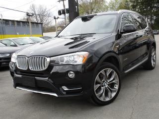 Used 2017 BMW X3 X3 28I XDRIVE~NAVIGATION~25KMS ONLY~PANO ROOF for sale in Burlington, ON