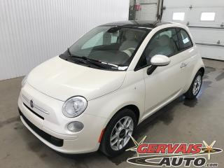Used 2013 Fiat 500 Pop T.ouvrant A/c for sale in Shawinigan, QC