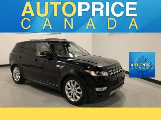 Used 2016 Land Rover Range Rover Sport DIESEL Td6 HSE MOONROOF|NAVIGATION|LEATHER for sale in Mississauga, ON