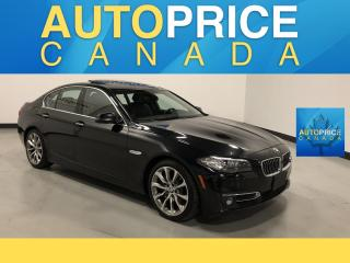 Used 2015 BMW 535 d xDrive MOONROOF NAVIGATION LEATHER for sale in Mississauga, ON