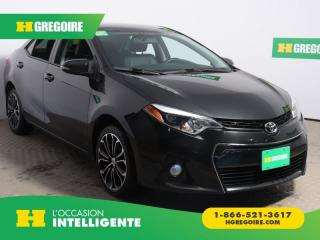 Used 2015 Toyota Corolla S AC GR ELEC for sale in St-Léonard, QC