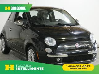 Used 2012 Fiat 500 LOUNGE AC GR ELEC for sale in St-Léonard, QC