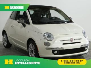 Used 2012 Fiat 500 CABRIOLET AC GR for sale in St-Léonard, QC
