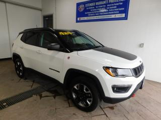 Used 2018 Jeep Compass Trailhawk LEATHER NAVI SUNROOF for sale in Listowel, ON