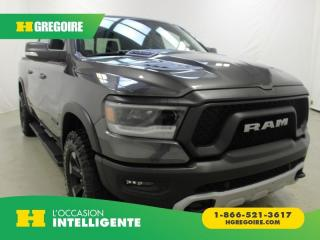 Used 2019 RAM 1500 REBEL CREW-CAB 4X4 for sale in St-Léonard, QC