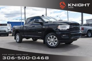 New 2019 RAM 2500 Big Horn Crew Cab | Heated Seats and Steering Wheel | Sunroof | Navigation for sale in Swift Current, SK