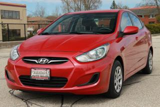 Used 2013 Hyundai Accent GL ONLY 39K | Heated Seats | CERTIFIED for sale in Waterloo, ON