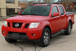 Used 2010 Nissan Frontier PRO-4X ONLY 87K | MINT CONDITION | CERTIFIED for sale in Waterloo, ON
