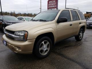 Used 2007 Chevrolet TrailBlazer LS LOCAL TRADE !!  DUAL CLIMATE !!  CD PLAYER for sale in Cambridge, ON