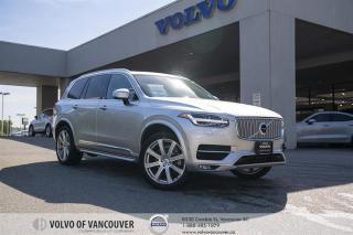 Used 2018 Volvo XC90 T6 AWD Inscription CERTIFIED PRE-OWNED | NAVIGATION | HEATED SEATS | 360 CAMERA for sale in Vancouver, BC