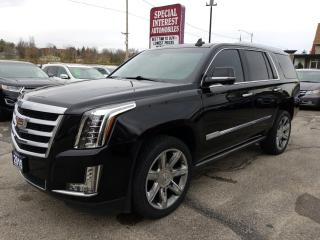 Used 2015 Cadillac Escalade Premium NAVIGATION !!  SUNROOF !! 7 PASSENGER !! for sale in Cambridge, ON