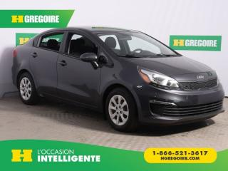 Used 2017 Kia Rio LX for sale in St-Léonard, QC