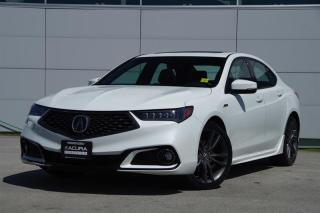 Used 2018 Acura TLX 2.4L P-AWS w/Tech Pkg A-Spec *Acura Certified* for sale in Vancouver, BC