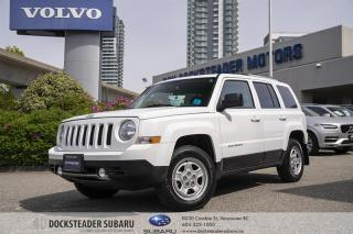 Used 2016 Jeep Patriot 4x4 Sport / North BLUETOOTH | HEATED SEATS | SUNROOF for sale in Vancouver, BC
