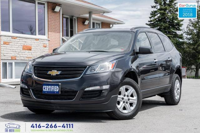 2015 Chevrolet Traverse 7SEAT 1 OWNER NO ACCIDENT WARRANTY CERTIFIED CLEAN