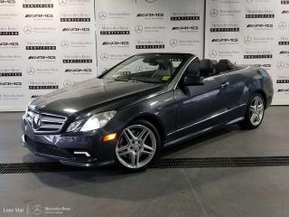 Used 2011 Mercedes-Benz E550 Cabriolet for sale in Calgary, AB
