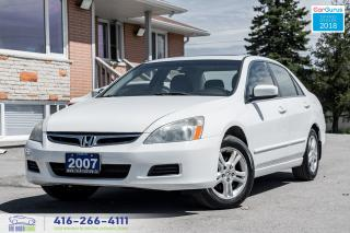 Used 2007 Honda Accord SE 2.4L M-5 MANUAL SUNROOF CERTIFIED SERVICED NICE for sale in Bolton, ON