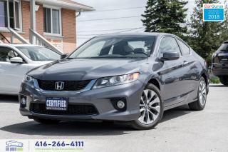 Used 2015 Honda Accord EX-L W/NAVI M-6 6SPD 1 owner Certified Warranty for sale in Bolton, ON