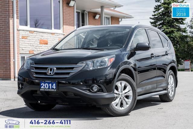 2014 Honda CR-V EXL AWD NavGps 1Owner CleanCarfax CertifiedFinance