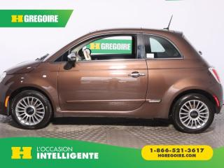 Used 2015 Fiat 500 LOUNGE CUIR TOIT for sale in St-Léonard, QC