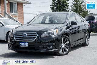 Used 2016 Subaru Legacy 3.6R w/Limited & Tech 1 Owner Warranty Certified for sale in Bolton, ON