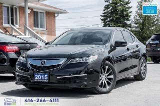 Used 2015 Acura TLX Tech Navi 1 owner No accidents Certified Serviced for sale in Bolton, ON