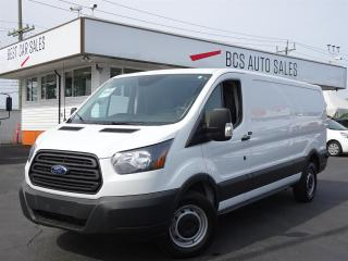 Used 2017 Ford Transit Cargo Van Heavy Duty Cargo, EcoBoost, Low Kms, No Accidents for sale in Vancouver, BC