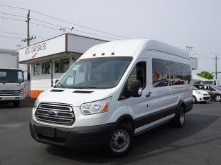 Used 2017 Ford Transit Wagon 15 Passenger, Diesel Powered, Extended Version for sale in Vancouver, BC