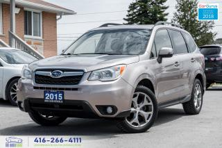 Used 2015 Subaru Forester Limited w/Tech Pkg No Accidents Certified Serviced for sale in Bolton, ON