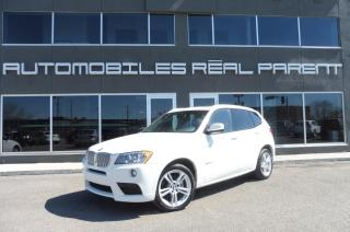 Used 2013 BMW X3 Xdrive 35i - M Pack for sale in Québec, QC
