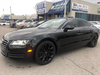 Used 2014 Audi A7 TDI Progressiv ACCIDENT FREE PREMIUM + AWD NAVI FRONT & REAR HEATED SEATS LEATHER SUNROOF ALLOYS for sale in Concord, ON