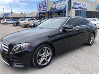Used 2017 Mercedes-Benz E-Class ONE OWNER|ACCIDENT FREE|PREMIUM PKG|PANORAMIC ROOF|NAVIGATION|WIDE BACKUP CAMERA for sale in Concord, ON