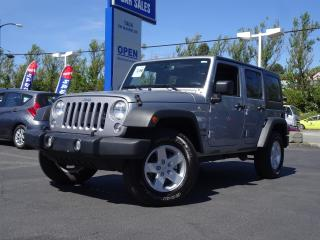 Used 2018 Jeep Wrangler Unlimited Automatic, Bluetooth, Very Low Kms, Super Clean for sale in Vancouver, BC