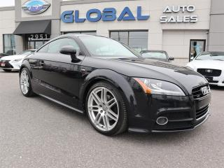 Used 2013 Audi TT 2.0T Coupe  S-LINE  quattro S tronic for sale in Ottawa, ON