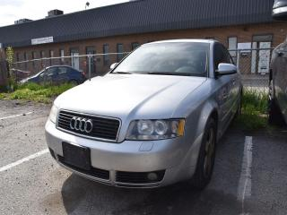 Used 2005 Audi A4 1.8T (Multitronic) for sale in Concord, ON