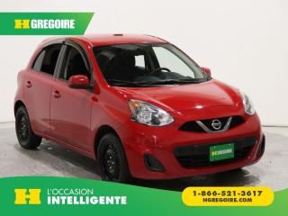Used 2016 Nissan Micra SV A/C GR ELECT for sale in St-Léonard, QC