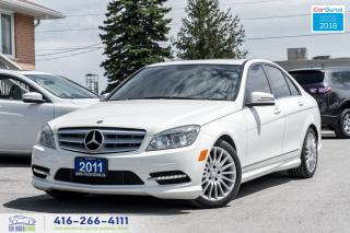 Used 2011 Mercedes-Benz C-Class C250 4-MATIC NO ACCIDENT CERTIFIED SERVICED CLEAN for sale in Bolton, ON