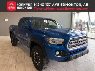 Used 2017 Toyota Tacoma TRD Off Road | 4X4 | Backup Cam | Bluetooth | Heat for sale in Edmonton, AB