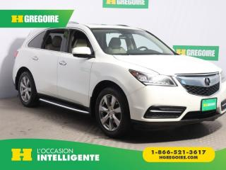 Used 2014 Acura MDX ELITE PKG AWD CUIR for sale in St-Léonard, QC
