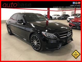 Used 2016 Mercedes-Benz C-Class C300 4MATIC PREMIUM PLUS NIGHT SPORT BURMESTER 19 for sale in Vaughan, ON