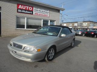 Used 2000 Volvo C70 Convertible for sale in St-Hubert, QC