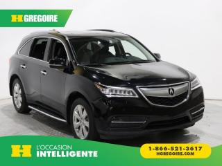Used 2015 Acura MDX ELITE PKG SH-AWD 7 for sale in St-Léonard, QC
