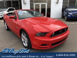 Used 2014 Ford Mustang Cabriolet à 2 portes GT for sale in Shawinigan, QC