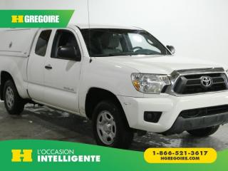 Used 2015 Toyota Tacoma 2WD ACCESS CAB AC for sale in St-Léonard, QC