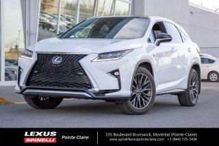 Used 2016 Lexus RX 350 F-Sport Serie 3 for sale in Montréal, QC
