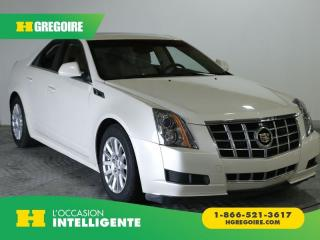 Used 2013 Cadillac CTS LUXURY AWD GR ELEC for sale in St-Léonard, QC
