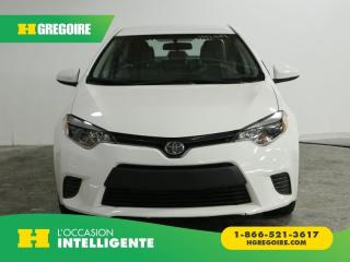 Used 2016 Toyota Corolla LE AC GR ELEC for sale in St-Léonard, QC