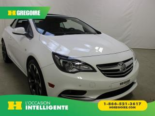 Used 2016 Buick Cascada PREMIUM for sale in St-Léonard, QC