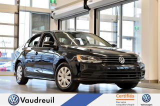 Used 2015 Volkswagen Jetta Trendline+ A/C * BLUETOOTH * CAM RECUL for sale in Vaudreuil-Dorion, QC